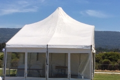 10 Metres Peaked Roof Tents - Festival Hire