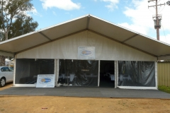 10 Metres Tent with Veranda - Festival Hire
