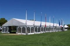 10 Metres Tent With Windows - Festival Hire
