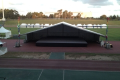 15 Metres Covered Stage - Festival Hire