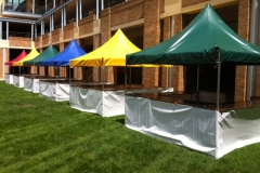 3x3 Metres Market Stall - Festival Hire