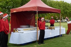 Red Fete Stalls - Festival Hire
