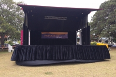 Mobile Stage Hydro Type - Festival Hire