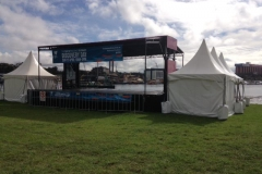 Mobile Stage and Fete Stall - Festival Hire
