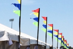 Structure Flagging - Festival Hire