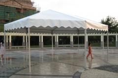 5x5m Hexagon Tent - Festival Hire