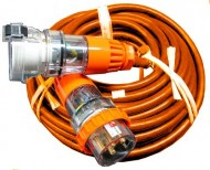 32amp   3 Phase Cables - Festival Hire