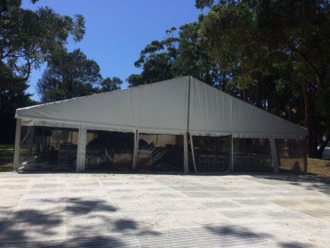 Wide Clearspan Tents - Festival Hire