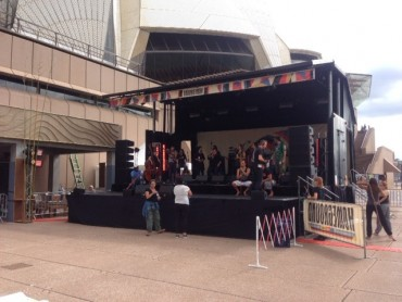 Mobile Stage Nelson - Festival Hire