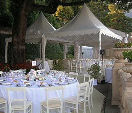 Elegant fetes for weddings - Festival Hire