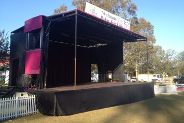 Jumbo Mobile Stage - Festival Hire