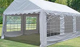 3m Marquee Wide Clearspan - Festival Hire